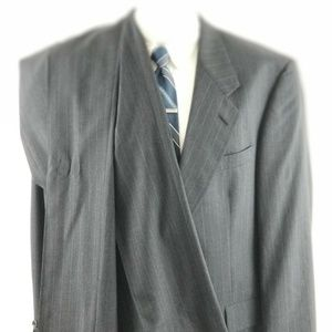 Hart Schaffner Marx Men's 42 R 2 Button Wool Suit